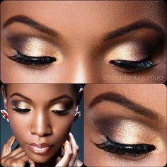 What eye shadow is perfect for dark skin   AmazingMakeups.com