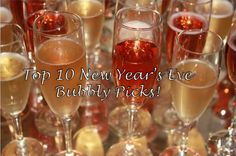 New Years Eve Bubbly Recommendations