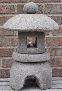 Hypertufa Japanese lantern | decorations | Japanese garden lanterns