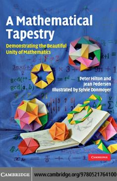 Demonstrating the Beautiful Unity of Mathematics. This easy-to-read 2010 book demonstrates how a simple geometric idea reveals fascinating connections and results in number theory, the mathematics of polyhedra, combinatorial geometry, and group theo. Origami And Math, Origami And Kirigami, Origami Box, Origami Paper, Plane Geometry, Group Theory, Number Theory, Teaching Secondary, Paper Engineering