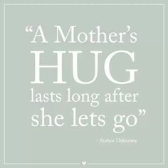 A hug makes everything better. Happy National Hug Day. x