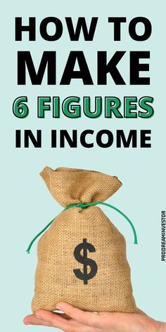 Learn how much is 6 figures and how to reach a six-figure salary. Discover jobs with a 6 figure potential that require or don't require a degree. #6figures Earn Money From Home, Way To Make Money, Make Money Online, Surveys For Money, Online Business Opportunities, Online Blog, Making Extra Cash, Online Entrepreneur, Money Saving Tips