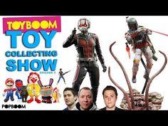 STAR WARS Hot Toys Boba Fett & Ant Man, RON ENGLISH Vinyl, NECA Aliens : TOY BOOM Toy Show #2 - YouTube