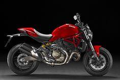 New Monster 821 arrives in dealerships - http://motorcycleindustry.co.uk/new-monster-821-arrives-dealerships/ - Ducati, Monster 821