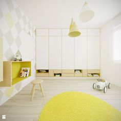 Pokój dziecka 001 - zdjęcie od MC _Architekt - Pokój dziecka - Styl Skandynawski - MC _Architekt
