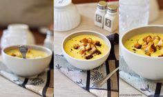 Crema di cipolle e patate allo zafferano