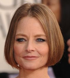 Hairstyle Fashion: Jodie Foster in hairstyles for women over 50.