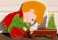 Peanuts Christmas Schroeder