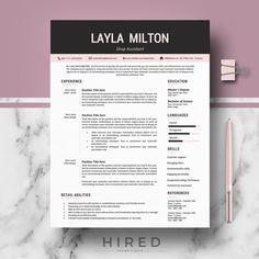 modern resume template resume template for ms word cv