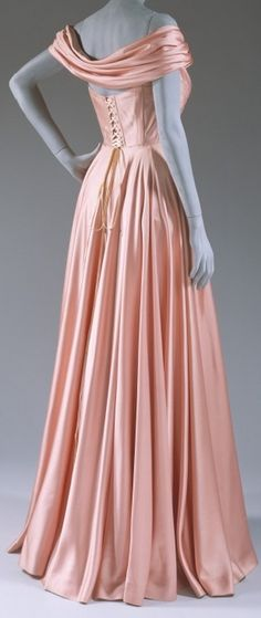 Evening dress - Spring/Summer 1947  Jacques Fath (French, 1912–1954)