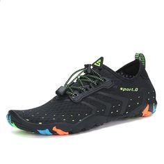 new arrival d3523 158a8 Aqua Shoes Scarpe estive Uomo Pantofole da spiaggia traspiranti Calzature a  monte Calzature da donna per