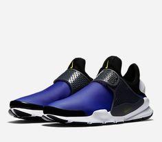 Nike Sock Dart SE Mens Running Shoes Paramount Blue Electrolime Black 911404 400 #Nike #RunningCrossTraining