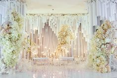 Gorgeous Greenery Wedding Decoration Ideas On a Budget Background Decoration, Backdrop Decorations, Reception Decorations, Event Decor, Wedding Centerpieces, Backdrops, Reception Ideas, Luxury Wedding, Rustic Wedding