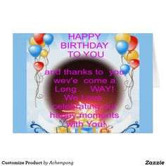 Customise Product Hakuna Matata Birthday Cards & Invitations e #Amazing #beautiful #stuff and #gift #products #sold on #Zazzle #Achempong #online #store #for #the #ultimate #shopping #experience