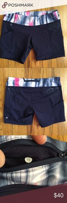 f0e806091a Lululemon Speed Track Shorts Size 10 Lululemon speed track shorts. Size 10.  No care