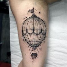 Hot air balloon by Felipe Mello