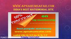navratri offers and discounts (best punjabi matrimony)