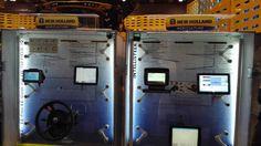 Cabina di comando by @newhollandag a #fieragricola #macchineagricole #tractor #trattori #macgest #newholland