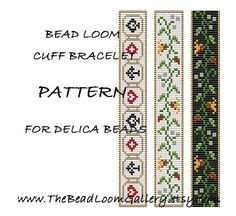 Bead Loom Cuff Bracelet Pattern Vol.15 by thebeadloomgallery, $4.00