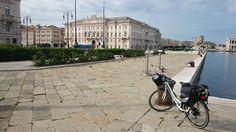 Partenza da Trieste, in bici!