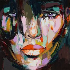 Francoise Nielly artwork http://shop.thecoolhunter.net/