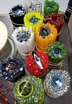 Ever wonder how glass artist Josh Simpson creates the the patterns in his work, using cane? #finecraft www.joshsimpson.com
