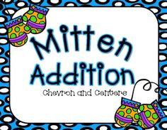 Mitten Addition-Freebie