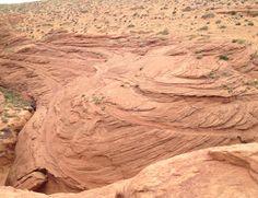 Entrance of lower Antelope canyon