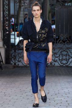 Haider Ackermann Spring 2016 Menswear Fashion Show - Serge Rigvava