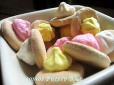Florecitas de Puerto Rico haha this are delicious. They are called the little flowers of puerto rico