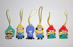 Minions Christmas ornaments #coolchristmas #minions
