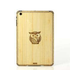 Owl iPad mini Cover Bamboo #NotABox and #UPSHappy