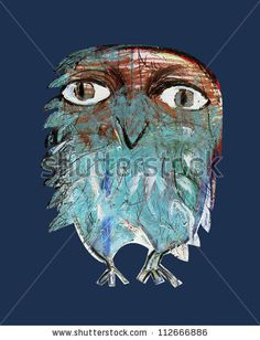 'Owl' by Oxana Mahnac