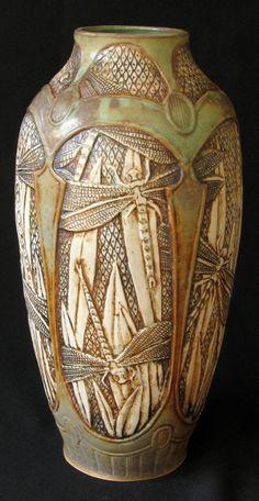 "stephanienouveau: "" dragonfly vase 2010 """