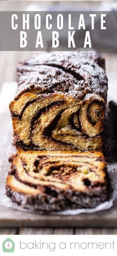 Chocolate Babka: Pillowy soft brioche bread ribboned throughout with rich chocolate, then sprinkled with a buttery chocolate streusel crumb topping. Baking Recipes, Cookie Recipes, Dessert Recipes, Pastries Recipes, Scd Recipes, Czech Recipes, Cuban Recipes, Steak Recipes, Easy Desserts