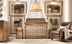 "Two Chic Ideas for Baby King George's ""Africa""-Themed Nursery - nousDECOR"