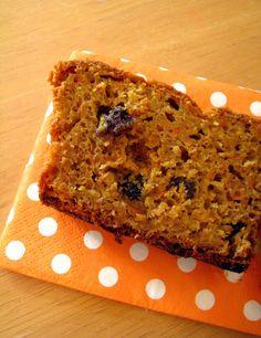 Gâteau aux carottes, sirop d'érable et raisins secs » Rose Madeleine