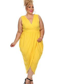 6de6af5a234 Jordyn Drape Maxi Dress Ms. Jordyn is a easy breezy flowy sleeveless