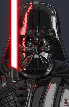 Darth Vader art