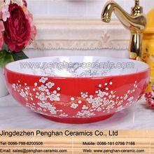 Jingdezhen precio barato famille-rose <strong> baño </ strong>…