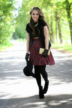 Laura Lusena: Pleated Skirt / Fall fashion 2013 / outfit / style /