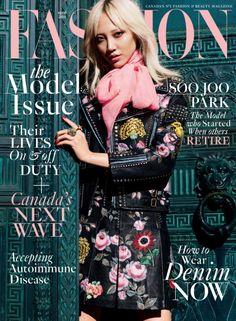 Soo Joo for Fashion Canada April 2016