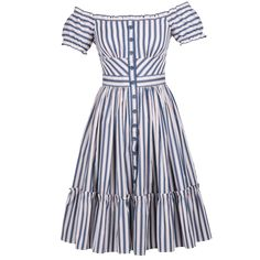 Skipper Dress stripes - New In  - Lena Hoschek Online Shop