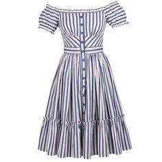 Skipper Dress stripes - New In  - Lena Hoschek Online Shop