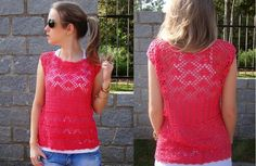 Crochet 4-Bluzki,tuniki - Danuta Zawadzka - Álbumes web de Picasa