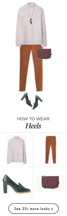 """All from Mango"" by klaris-kon on Polyvore featuring MANGO"