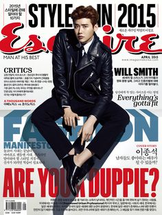 Lee Jong Seok Covers Esquire Korea's April 2015 Issue | Couch Kimchi