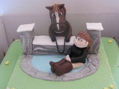 Horse Birthday Cake 17th Birthday, Birthday Parties, Birthday Cakes, Pony Cake, Vanilla Sponge Cake, Horse Treats, Farm Cake, Horse Cake, Horse Birthday