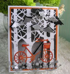 Halloween bicycle front