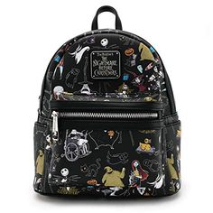 1d5130a6248 Find Loungefly x Nightmare Before Christmas Women s Allover-Print Character Mini  Backpack online. Shop the latest collection of Loungefly x Nightmare Before  ...